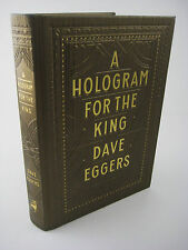 1st Edition A HOLOGRAM FOR THE KING Dave Eggers FILM Movie FICTION Novel