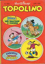 fumetto TOPOLINO WALT DISNEY numero 1593