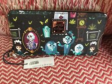 Disney Parks Dooney And Bourke Haunted Mansion Wallet Wristlet Purse Nwt