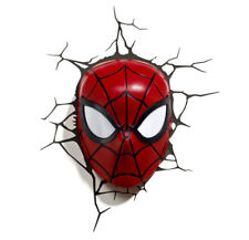 3D FX Marvel Spiderman Face Wall Night Light
