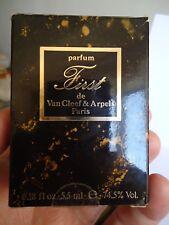 "VINTAGE RARE 1980's parfum ""FIRST"" Van Cleef & Arpels Paris,OLD FORMULA,ORIGINAL"