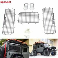 5PCS 1/10 RC Car Crawler Stainless Steel Windows Guard For Traxxas TRX4 Defender