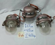 Industrial Pendant Light Factory Lamps - Bunker Lamp - Loft Ceiling Light