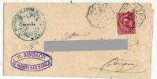 Sorbo San Basile (Catanzaro) - Annullo Collettoria  - viagg per Catanzaro 1888
