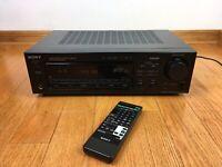 Sony STR-D565 Audio/Video Stereo Receiver PHONO Pre-Amp + Remote RM-U252 BUNDLE