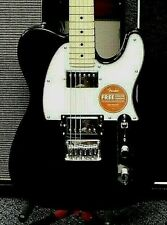 2020 Fender Squier Contemporary Telecaster HH! Black Metallic Finish! NO RESERVE