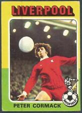 TOPPS 1975 FOOTBALLERS #135-LIVERPOOL & SCOTLAND-FOREST-HIBERNIAN-PETER CORMACK