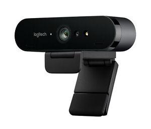 Logitech BRIO 4K 30fps Ultra HD Video Business Webcam Camera Built-in Mic