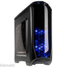 Kolink Aviatore Nero USB 3.0 Gaming PC Case strumento gratuito LED ATX mATXUSB MINI ITX