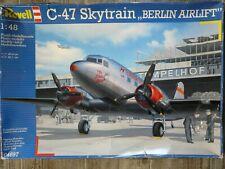 "Maquette Avion REVELL 1/48 Ref 04697 C-47 Skytrain ""Berlin Airlift"""