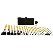 Bdellium Tools Brush Set w Roll Up Pouch - Professional & Hand Crafted 24 pcs