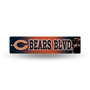 "Chicago Bears Football 16"" Street Sign Fan Wall Decor"