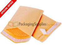 500 #3 8.5x14.5 Kraft USA Bubble Mailers Padded Envelopes Mailer Bags PolyAir