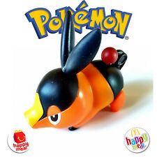 MC DONALDS • Happy Meal 2011 POKEMON Tepig TOY Mc donald's con Foglietto