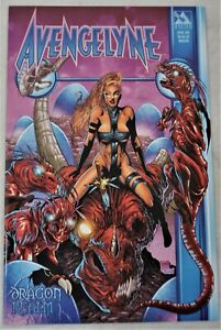 AVENGELYNE Dragon Realm #1 JUL 2001 Martin Variant Avatar Press NM