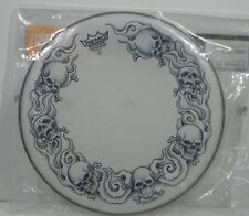 """Remo 14"""" Tattoo Skyns Skull Snare Drumhead"""