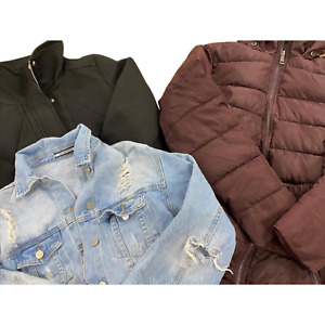 Wholesale Branded Clothing Job Lot Mens/Women Used Grade A Mixed Coats Clearance
