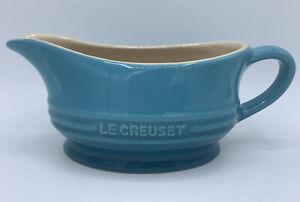 Le Creuset Gravy Boat - Caribbean Blue / Aqua / Teal / Turquoise