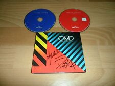 OMD - ENGLISH ELECTRIC (RARE SIGNED COLLECTORS LIMITED EDITION CD / DVD ALBUM)