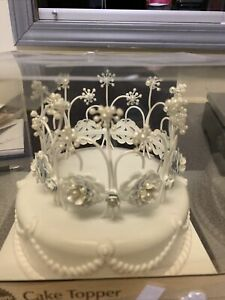 Wilton Crown Cake Topper With Pearls
