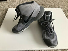 "MUST SEE!!!!  Nike Gray Basketball ""Air Precision"" Shoes woman sz 8.5"
