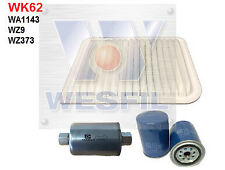 WESFIL AIR OIL FUEL FILTER SERVICE KIT FOR FORD FALCON BA 4.0L DOHC