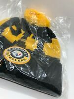Winter Beanie Hat New Pittsburgh Steelers New Era Knit On Field Sideline Cap USA