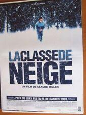 AFFICHE - LA CLASSE DE NEIGE CLAUDE MILLER