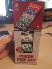 100 Ct. Poker Chips Set 11.5 gram (styles will vary).   Cardinal Industries