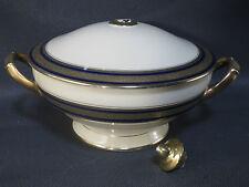 antigua sopera porcelana de Sajonia roto french antigua jabón plato