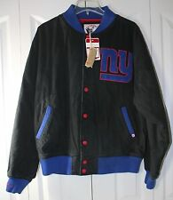 Mitchell & Ness NY Giants Men's Large Throwback Scrimmage Jacket NWT *Has Scuff*