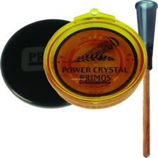 Primos Power Crystal Friction Call w/Conditioning Pad/Abrasive Sandpaper 217