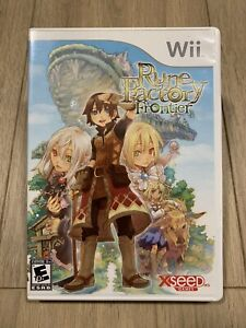 Rune Factory Frontier (Nintendo Wii, 2009) Complete With Manual - Tested!