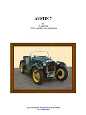 AUSTIN 7 - CROSS STITCH CHART