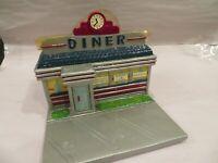 Diner Restaurant Shop Flower Planter,Container, Organizer, Vintage, FTD