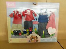 Barbie Happy Family Fashions: Midge, Alan, Ryan & Nikki Clothes (2003) NIB