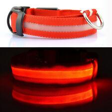 Hot Fascinating LED Flashing Collar for Pets Dog Cat Night Safety Light Luminous