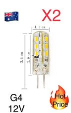 G4 Home 3014smd LED Light Lamp 12v 3w Warm White Silicone Crystal Slim Hot