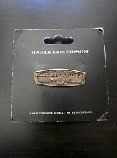 Harley Davidson 100th Anniversary Pin