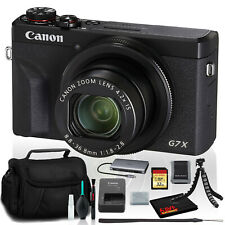 Canon PowerShot G7 X Mark III Digital Camera (Intl Model) Includes 32GB SD Kit