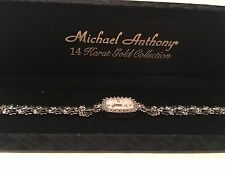 Michael Anthony 14K Gold and Diamond Collection (MOP & IOB Women's) Watch