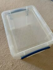 Really Useful Box 3 litre plastic storage box with lid