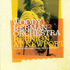 The Woody Herman Orchestra : Reunion at Newport CD (2018) ***NEW***