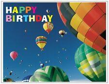 "Jail Prison Inmate Postcard ""Happy Birthday Balloon"""
