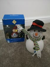 Christmas 20cm Snowman Colour Changing LED