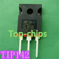 5pcs TIP142 NPN Transistor Darlington 100V 10A   new