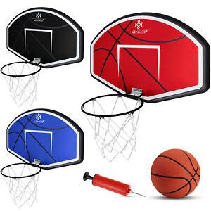 KESSER® Basketballkorb mit Netz Set Backboard Basketball Basketballboard Kinder