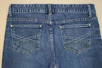 Aeropostale Ashley Ultra Skinny Jeans Junior's Size 5 / 6 Embellished Pockets