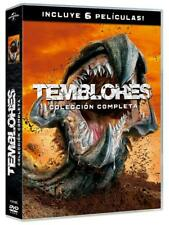 TEMBLORES 1-6 DVD PACK COLECCIN COMPLETA NUEVO ( SIN ABRIR ) 6 PELICULAS