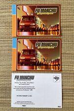 Fu Manchu King of the Road Album 3 postcards Ford van Skateboard Dogtown Alva